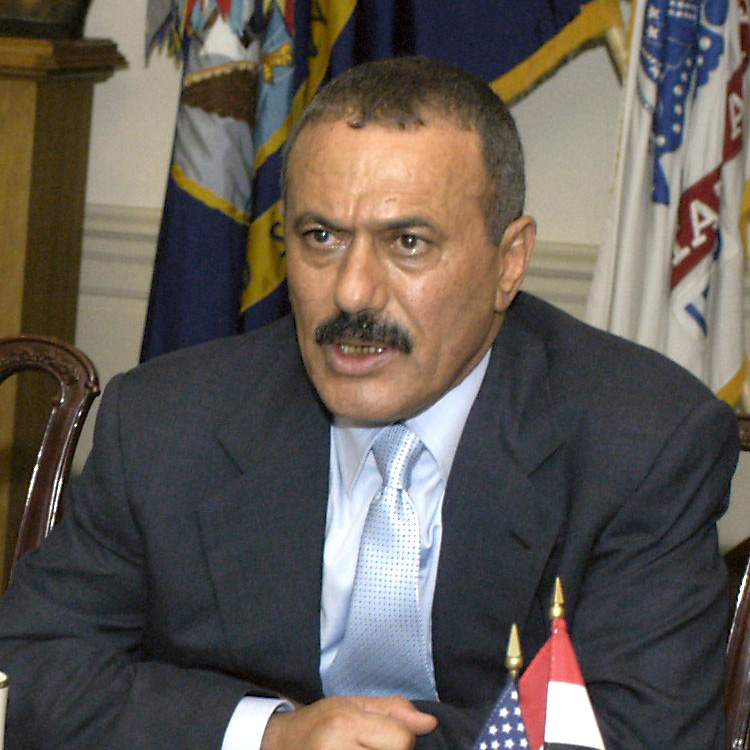 Ali Abdallah Saleh. photo by Helene C. Stikkel.  (Released)