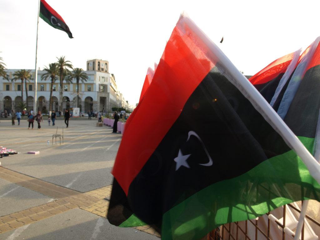 Place des martyrs, Tripoli - Crédit photo : Aude Thepenier