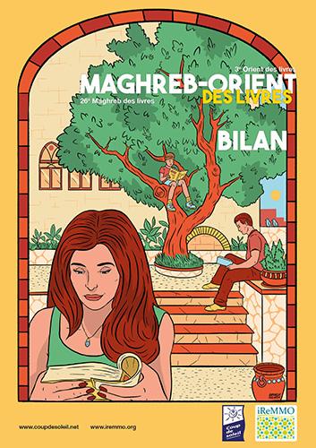 Couverture du bilan 2020 du Maghreb-Orient des livres