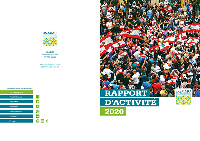 Couverture du rapport d'activité 2020 de l'iReMMO