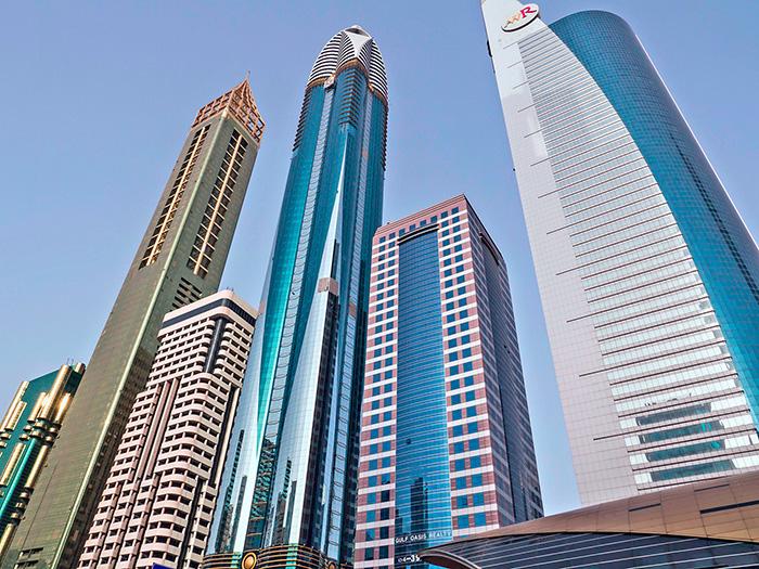 Centre financier international à Dubai
