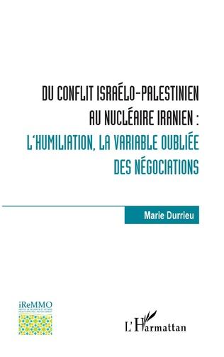 N40 Conflit israélo-palestinien