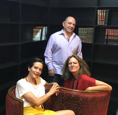 Photo de Lokman Slim, Monika Bergmann et Sandra Barrère
