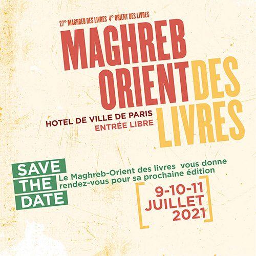 Save the date pour la nouvelle édition du festival littéraire Maghreb-Orient des livres