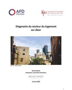 Couverture du Diagnostic du secteur du logement au Liban - Ifpo/AFD