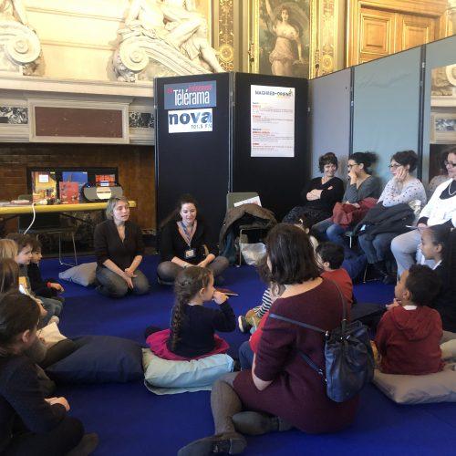 Lecture de contes animé par la Médiathèque La Canopée